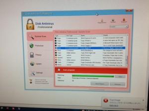 偽のセキュリティーソフト